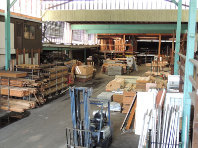 Just one section of the lumber yard