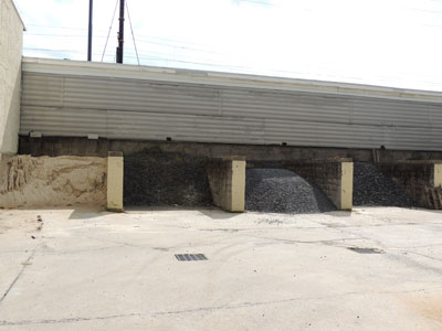 Sand and crushed stone available in bulk